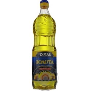 Chumak sunflower refined oil 900ml