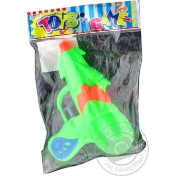 Пистолет водяной Gonchar 15x5x10.5см - купить, цены на Фуршет - фото 1