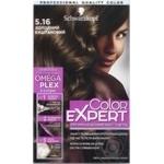 Краска для волос Schwarzkopf Color Expert 5-16 Холодный Каштановый