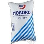 Молоко пастеризованное Повна Чаша 2,5% 900г