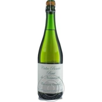 Сидр Christian Drouin Bouche de Normandie Brut 4.5% 0.75л - купить, цены на СитиМаркет - фото 1