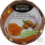 Пирог из сухофруктов Corona Blanca курага-миндаль 200г