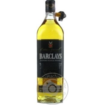 Віскі Barclays Extra Special 3 роки 40% 1л - купити, ціни на МегаМаркет - фото 1