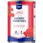 Metro chef in tomato sauce canned cherry tomato 400g
