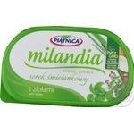 Сыр сливочный Piatnica Миландия с травами 135г