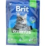Brit Premium Sterilized Cat Food 300g