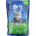 Корм Brit Premium для стерилизованных котов 1,5кг