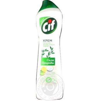 Засіб чистячий Cif Cream Могутність природи 450мл