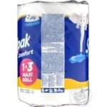 Полотенца бумажные Selpak Comfort Maxi Roll 1=3 - купить, цены на МегаМаркет - фото 2