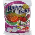Леденцы Liking Happy Fruits Фруктовый микс 125г