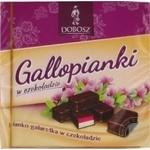 Конфеты шоколадные Dobosz Молочко и Желе ванильно-малиновые 400г