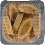 Печенье песочное ЧП Ольховой Тарталетки с семенами подсолнечника 150г
