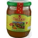 Honey Pasika flowery 650g glass jar