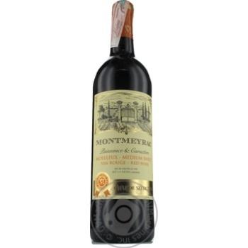 Вино Montmeyrac Rouge Medium-Sweet 10.5% 0,75л