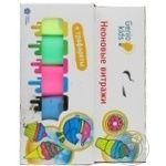 Набір Genio Kids Неонові вітражі для дитячої творчості - купити, ціни на Novus - фото 3