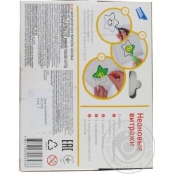 Набір Genio Kids Неонові вітражі для дитячої творчості - купити, ціни на Novus - фото 2