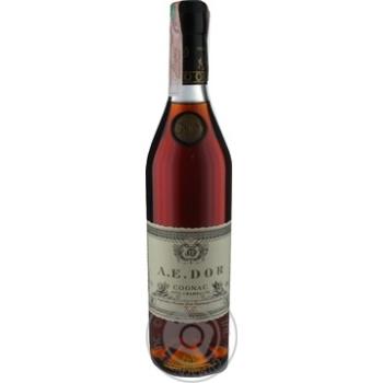 Коньяк A.E.Dor X.O. fine champagne 40% 0.7л