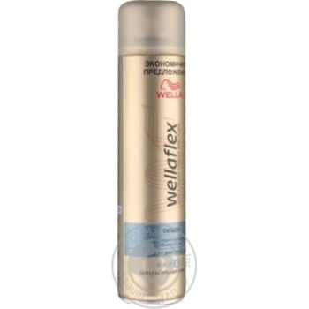 Лак Wellaflex Длительная поддержка объема для волос 400мл - купить, цены на Восторг - фото 7