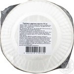 Тарелка бумажная Metro Professional 18см 25шт - купить, цены на Метро - фото 2