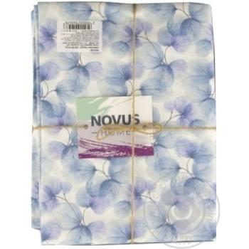 Скатертина Novus Home Azzurro 120*136см - купить, цены на Novus - фото 1