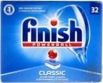 Средство Finish Classic для мытья посуды в посудомоечных машинах в таблетках 32шт