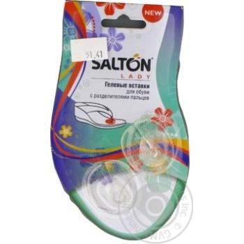 Вставки гелевые Salton для обуви с разделителями пальцев - купить, цены на МегаМаркет - фото 2