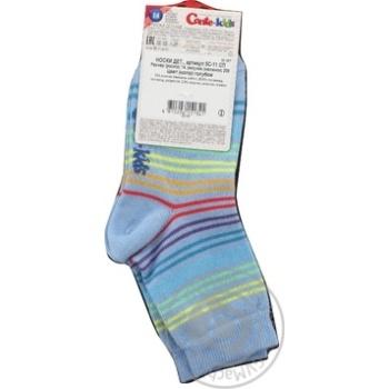 Шкарпетки дитячі Conte Kids Tip-Top 5С-11СП розмір 14,256 блакитний - купить, цены на Novus - фото 3
