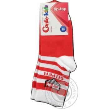 Шкарпетки дитячі Tip-Top розмір 14, 220 червоний