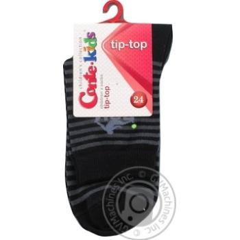 Шкарпетки дитячі Conte kids Tip-Top, розмір 24, 208 чорний - купити, ціни на Novus - фото 1