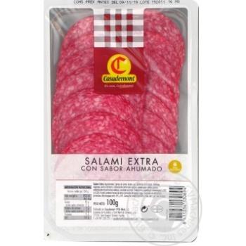 Sausage salami Casademont cutting 100g