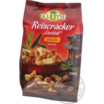 Крекер Клутх Коктейль рис 250г