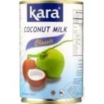 Кокосове молоко Kara Classic 17% 425мл