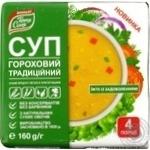 Суп гороховий традиційний Тетя Соя 160г брикет