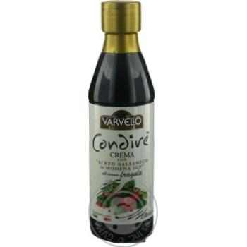 Соус з бальзамічного оцту із Модени зі смаком полуниці Varvello 250мл пл/б - купить, цены на Novus - фото 3