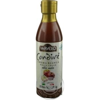 Соус винный Varvello белый с яблочным соком 250мл - купить, цены на Novus - фото 3