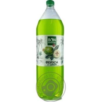 Напиток сильногазированный Бон Буассон Фейхоа 2л