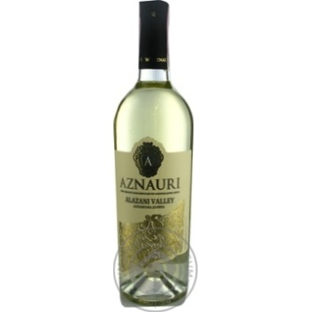 Вино Aznauri Алазанская долина біле напівсолодке 0,75л