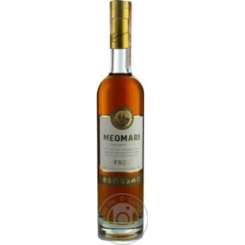 Meomari V.S.O.P. cognac 40% 0.5l - buy, prices for Novus - image 1