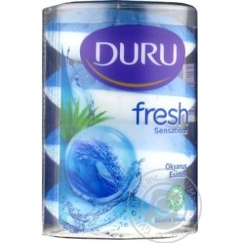Мыло Duru Fresh Sensation Океанский бриз 4штх115г