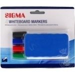 Sigma Set of markers For a board with a Rubber band 2mm
