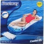 Шезлонг надувной Bestway на воде 160х86см шт