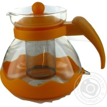 Чайник 0,75л скло-пластм 304В