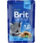Food Brit premium with chicken canned for kittens 100g