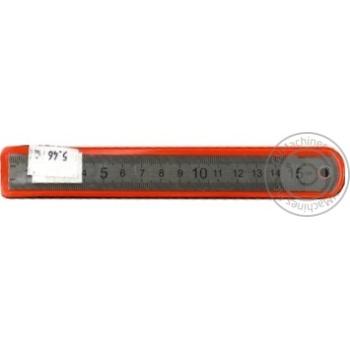 Лінійка 15см металева арт. E81388