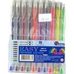 Ручки гелеві набір 10 кольорів J.Otten