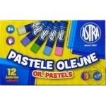 Пастель Astra масляна 12 кольорів