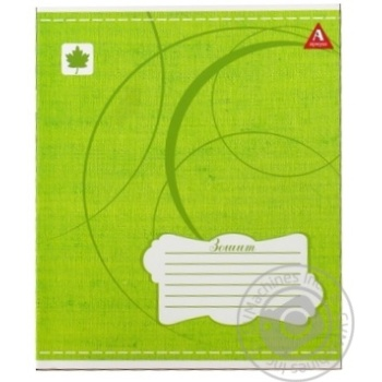 Tetrada Lined Notebook 12 sheets in Assortment - buy, prices for Furshet - image 5