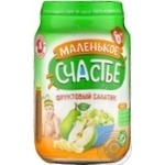 Puree Malenkoye schastye pear for children 180g