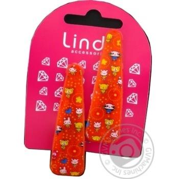 Заколка Lindo дитяча 2шт LN-877 - купити, ціни на CітіМаркет - фото 1