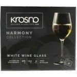 Glass Krosno for wine 6pcs 370ml